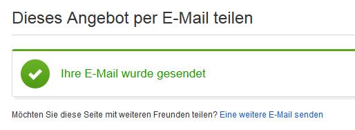 Internetrecht Abmahnung Ebay Empfehlung Email