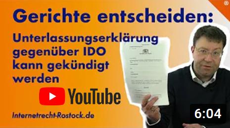 Youtube Kuendigung Ue Ido